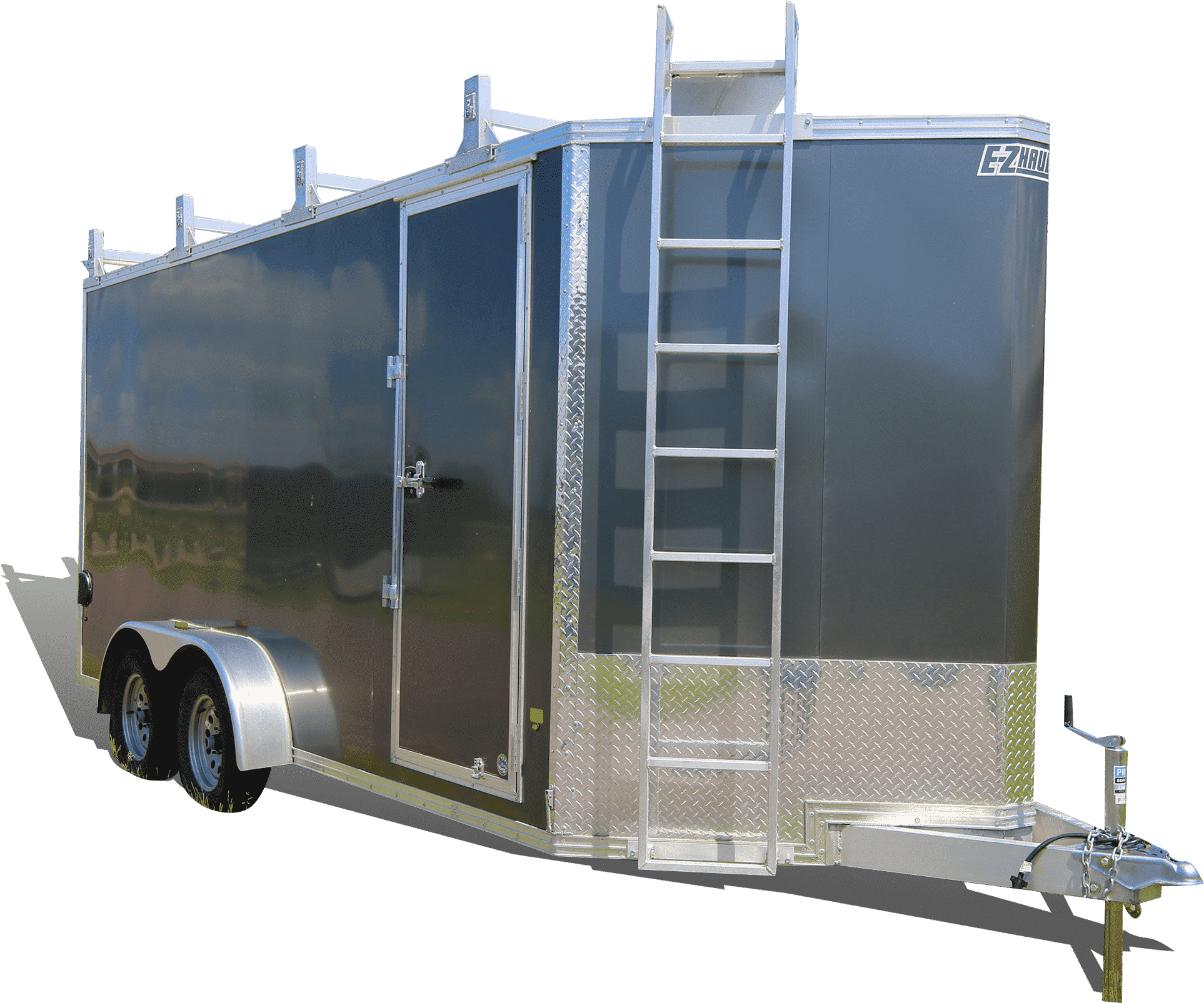 EZ Hauler Ultimate Contractor Package (UCP) Aluminum Trailer at I39 Supply.