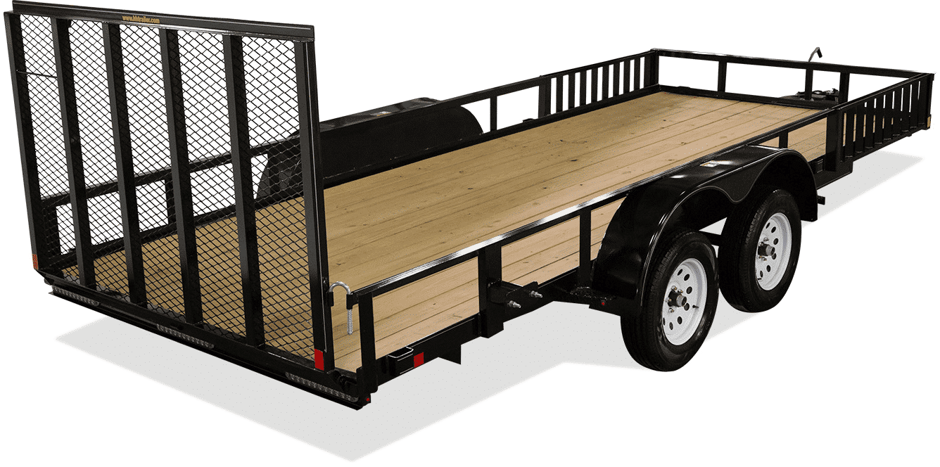 New Steel Trailers at I39 Supply